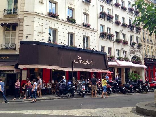 Paris uma del cia de cidade mais que viagem - Le comptoir du relais restaurant menu ...