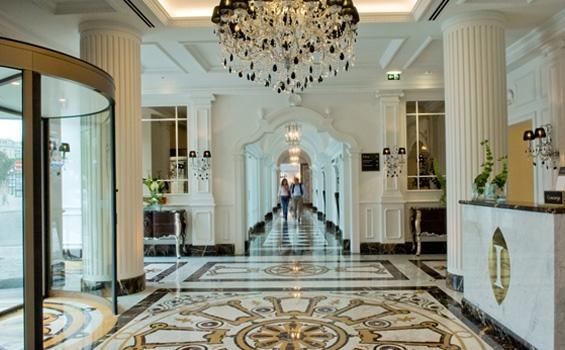 Interior do Hotel Intercontinental Palácio das Cardosas