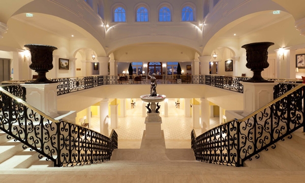 Lobby e Entrada do Hotel Yeatman