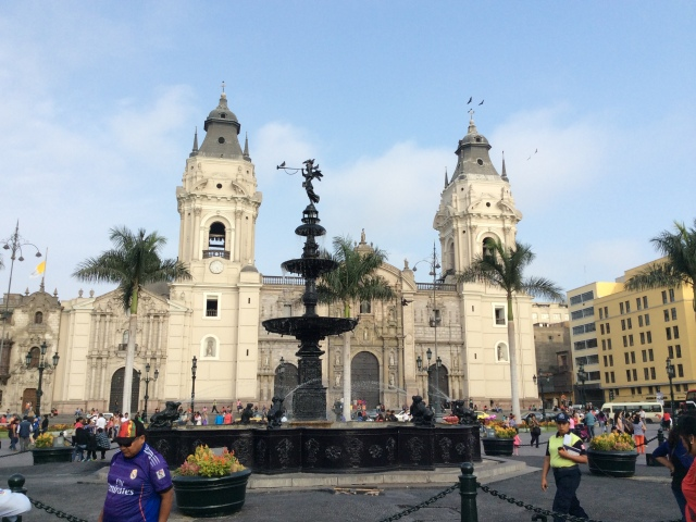 lima. catedral