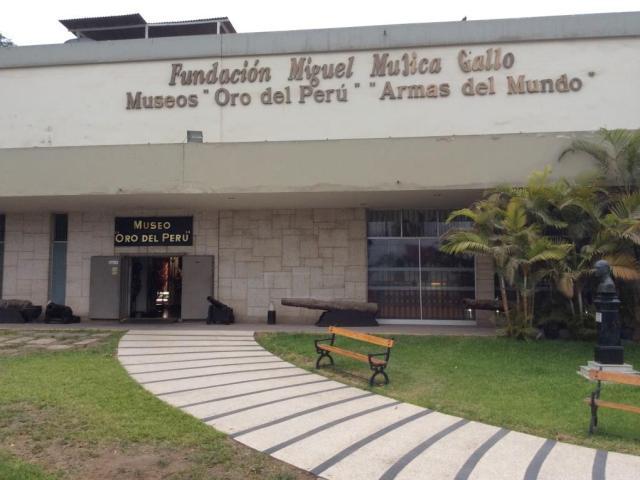 Museu do Ouro. Lima