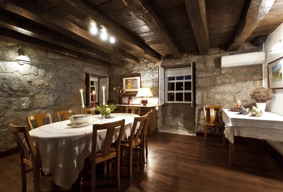 Interior do Restaurante Cozinha da Terra