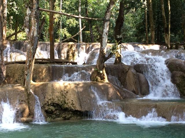 Luang Prabang - cachoeira