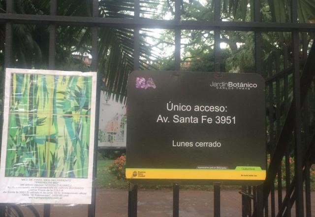 Buenos Aires. Jardim Botânico