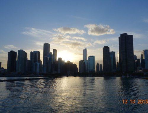 A bela arquitetura de Chicago